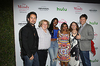 WEST HOLLYWOOD, CA - SEPTEMBER 09: Mindy Kaling, Ed Weeks, Ike Barinholtz, Beth Grant, Xosha Roquemore, Fortune Feimster attends The Mindy Project 100th Episode Party at E.P. & L.P. on September 9, 2016 in West Hollywood, California. (Credit: Parisa Afsahi/MediaPunch).