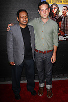 HOLLYWOOD, LOS ANGELES, CA, USA - MAY 30: Rajeev Nirmalakhandan, Chris Marquette at 'The Odd Way Home' Los Angeles Premiere held at the Arena Cinema Hollywood on May 30, 2014 in Hollywood, California, Los Angeles, California, United States. (Photo by Celebrity Monitor)
