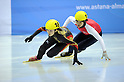 Ayuko Ito (JPN), FEBRUARY 1, 2011 - Short Track : the ladies 500m short track skating preliminaries during the 7th Asian Winter Games in Astana, Kazakhstan.  (Photo by AFLO) [0006]