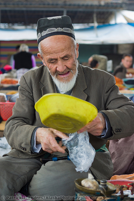 The marketplace in Osh, Kyrgyzstan, Central Asia