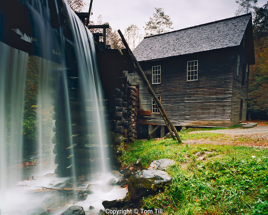 Mingus Grist Mill, Great Smoky Mountains National Park, Southern Appalachians, North Carolina