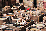 Tanneries of Fès, Morocco.
