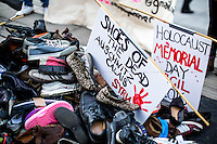 """25.01.2016 - """"Holocaust Memorial Day Vigil 2016 - No More Migrant Deaths Refugees Are Welcome Here!"""""""