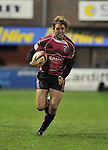 Jamie Robinson breaks on the wing. Cardiff Blues V Bath, EDF Energy Cup. &copy; Ian Cook IJC Photography iancook@ijcphotography.co.uk www.ijcphotography.co.uk