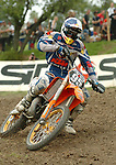 Motocross, MX2 WM 2004, Weltmeisterschaft, Grand Prix of Europe, Gaildorf (Germany) Maximilian Nagl (GER), KTM