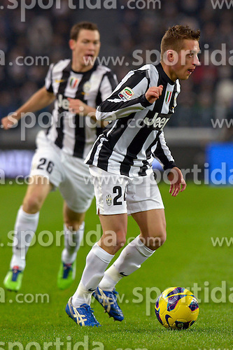 01.12.2012, Juventus Stadion, Turin, ITA, Serie A, Juventus Turin vs FC Turin, 15. Runde, im Bild Emanuele Giaccherini // during the Italian Serie A 15th round match between Juventus FC and Torino FC 1906 at the Juventus Stadium, Turin, Italy on 2012/12/01. EXPA Pictures © 2012, PhotoCredit: EXPA/ Insidefoto/ Filippo Alfero..***** ATTENTION - for AUT, SLO, CRO, SRB, BIH and SWE only *****