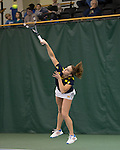The University of Michigan women's tennis team beat Brown, 7-0, at the Varsity Tennis Center in Ann Arbor, Mich., on January 26, 2013.