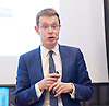 Resolution Foundation meeting - <br /> &quot;A Broken Heart? The living standards challenge facing the West Midlands Metropolitan mayor...<br /> <br /> As the West Midlands Metro area looks forward to its first ever Metro mayoral election next May, the region&rsquo;s economic performance is in the spotlight.<br /> at Birmingham Library, Birmingham, Great Britain <br /> 12th December 2016 <br /> <br /> Andy Street, Managing Director of John Lewis and Conservative candidate for West Midlands Mayor<br /> <br /> <br /> <br /> Photograph by Elliott Franks <br /> Image licensed to Elliott Franks Photography Services