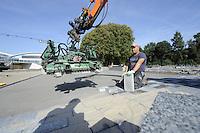 SCHAATSEN: HEERENVEEN: 21-09-2016, Ver(nieuw)bouw, IJsstadion Thialf, ©foto Martin de Jong