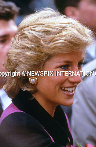 02.02.1989; New York, USA: PRINCESS DIANA<br /> makes a visit to the Henry Street settlement for homeless children and families on the Lower East Side.<br /> Diana's whirlwind visit to New York lasted 43 hours.<br /> Mandatory Photo Credit: &copy;Francis Dias/NEWSPIX INTERNATIONAL<br /> <br /> **ALL FEES PAYABLE TO: &quot;NEWSPIX INTERNATIONAL&quot;**<br /> <br /> PHOTO CREDIT MANDATORY!!: NEWSPIX INTERNATIONAL(Failure to credit will incur a surcharge of 100% of reproduction fees)<br /> <br /> IMMEDIATE CONFIRMATION OF USAGE REQUIRED:<br /> Newspix International, 31 Chinnery Hill, Bishop's Stortford, ENGLAND CM23 3PS<br /> Tel:+441279 324672  ; Fax: +441279656877<br /> Mobile:  0777568 1153<br /> e-mail: info@newspixinternational.co.uk