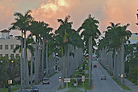 Florida, Palm Beach, Royal Palm Way