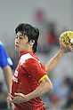 Makoto Suematsu (JPN), OCTOBER 29, 2011 - Handball : Asian Men's Qualification for the London 2012 Olympic Games match between Japan 46-15 Kazakhstan in Seoul, Soth Korea.  (Photo by Takahisa Hirano/AFLO)