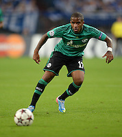 FUSSBALL   CHAMPIONS LEAGUE   SAISON 2013/2014   PLAY-OFF FC Schalke 04 - Paok Saloniki        21.08.2013 Jefferson Farfan (FC Schalke 04) am Ball