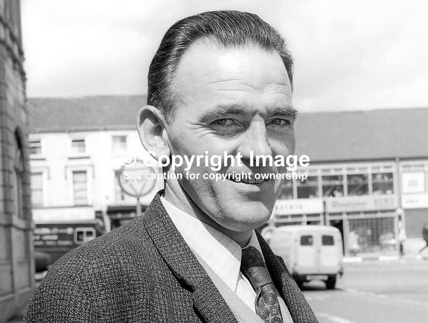 Michael Connolly, candidate, Alliance Party, N Ireland Assembly, Election, June, 1973, 197306000478.<br /> <br /> Copyright Image from Victor Patterson, 54 Dorchester Park, Belfast, UK, BT9 6RJ<br />  <br /> t1: +44 28 9066 1296 (from Rep of Ireland 048 9066 1296)<br /> t2: +44 28 9002 2446 (from Rep of Ireland 048 9002 2446)<br /> m: +44 7802 353836<br /> <br /> e1: victorpatterson@me.com<br /> e2: victorpatterson@gmail.com<br /> <br /> The use of my copyright images is subject to my Terms &amp; Conditions.<br /> <br /> It is IMPORTANT that you familiarise yourself with them. They are available on my website at www.victorpatterson.com.<br /> <br /> None of my copyright images may be used on a website unless they are visibly watermarked, i.e. &copy; Victor Patterson within the body of the visible image. Metadata denoting my copyright must NOT be deleted. <br /> <br /> Web use is extra at currently recommended NUJ rates.