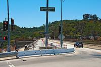 Sepulveda pass, Mulholland Dr Bridge, I-405, Freeway, Widening Project, before Demolition
