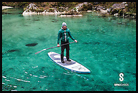 BNPS.co.uk (01202 558833)<br /> Pic: SipaBoards/BNPS<br /> <br /> Using the SipaBaord.<br /> <br /> Inventors are hoping to take the watersports market by storm after launching the world's first jet-propelled stand-up paddleboards that can go absolutely anywhere.<br /> <br /> Unlike normal SUPs, these cutting edge boards come with a built-in electric jet propulsion engine that can push the rider along at up to 3.5 knots - more than 4mph.<br /> <br /> The innovation, called SipaBoard, allows paddlers to take their boards upstream or against currents, or cover longer distances, with speeds controlled by a wireless remote built into the paddle.<br /> <br /> A SipaBoard can be pre-ordered for $990 - around &pound;670 - from today (Tues).