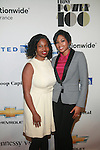 Nekesa Mumbi Moody and Alicia Quarles Attend the EBONY® Magazine's inaugural EBONY Power 100 Gala Presented by Nationwide Insurance at New York City's Jazz at Lincoln Center's Frederick P. Rose Hall  11/2/12
