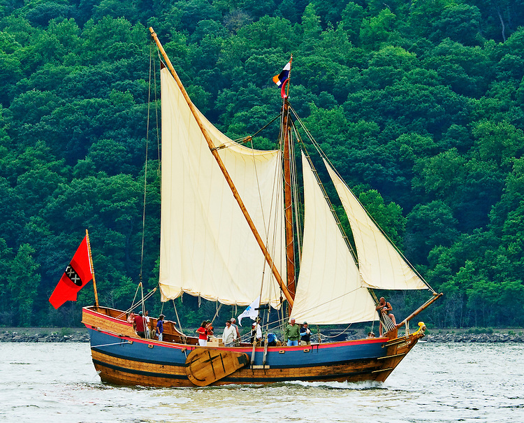 Sailing into the 17th century aboard Henry Hudson's Half Moon