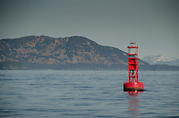 Bell Buoy off Kodiak Island, Alaska, US
