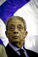 Amr Moussa, Presidential candidate, former general secretary of the Arab league and forme Foreign Minister under Mubarak Regime. Since the start of his campaign in March, Moussa has been trying to distance himself from Mubarak?s regime. In his campaign Moussa spoke about the growing anger of the Arab people and the dire need for economic reforms to enhance their standards of living.He discusses also about decreasing the poverty rate in Egypt, improving education and attaining social justice.Amr Moussa supporters say that with his vast political and diplomatic experience that exceeds that of all the other candidates, that he is the only one capable of running Egypt in this critical stage.