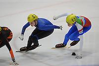 SCHAATSEN: LEEUWARDEN: 20-02-2016, Efstedenhal, Shorttrack Internationaal Jeugdtoernooi, ©foto Martin de Jong