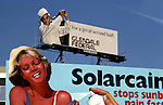 Solarcaine billboard in Hollywood circa 1978