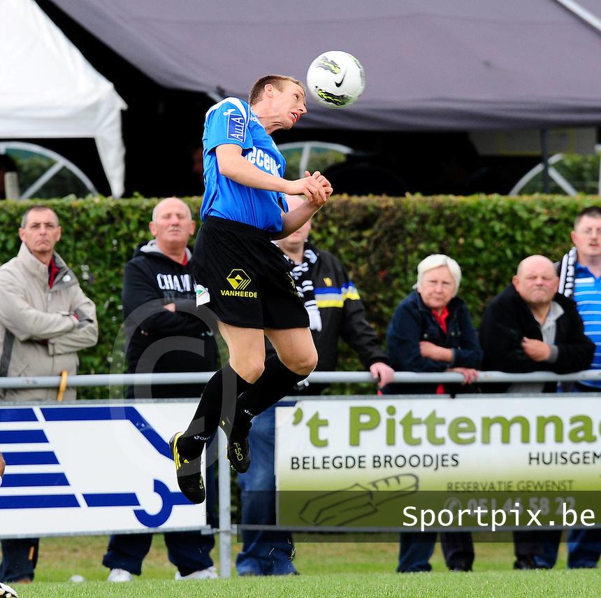 KSV Roeselare : Jeremy Huyghebaert.foto VDB / BART VANDENBROUCKE