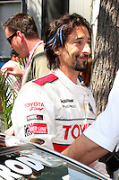 Adrien Brody at the  Toyota Pro/Celeb Race Day on April 18 ,2009 at the Long Beach Grand Prix course in Long Beach, California..&copy;2009 Kathy Hutchins / Hutchins Photo....                .