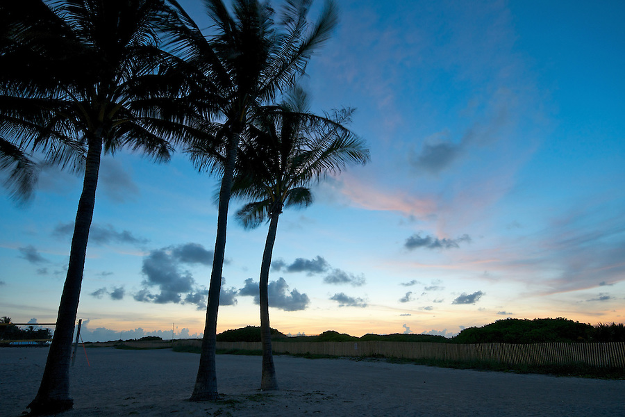 Sunrise in Miami Beach, Florida, USA