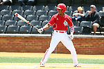 21 May 2016: Louisville's Corey Ray. The Wake Forest University Demon Deacons played the University of Louisville Cardinals in an NCAA Division I Men's baseball game at David F. Couch Ballpark in Winston-Salem, North Carolina. Louisville won the game 9-4.