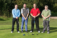 Team UHY hacker Young - from left are Ian Radford, James Simmonds, Simon Brwning and Rob Darby