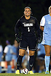 22 August 2014: North Carolina's Bryane Heaberlin. The University of North Carolina Tar Heels hosted the Stanford University Cardinal at Fetzer Field in Chapel Hill, NC in a 2014 NCAA Division I Women's Soccer match. Stanford won the game 1-0 in sudden death overtime.