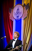 Washington, DC - January 20, 2009 -- Jon Bon Jovi performs at the Commander-in-Chiefs Ball at the National Building Museum, Washington, D.C., Tuesday, January 20, 2009. The ball honored Americas service members, families the fallen and wounded warriors. Credit: Chad J. McNeeley - DoD via CNP