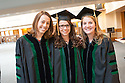 Louisa Mook, Lindsay Kleeman, Leslie Bradbury. Commencement class of 2013.