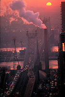 Queensboro Bridge, New York City, Connecting Manhattan and Queens, New York, designed by Gustav Lindenthal in collaboration with Leffert L. Buck and Henry Hornbostel