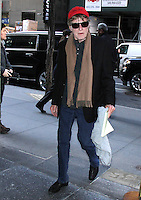 NEW YORK, NY - FEBRUARY 15: Robert Redford seen at NBC's Today Show in New York City on February 15, 2017. Credit: RW/MediaPunch