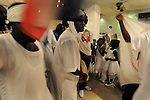 Sudanese in southern Tel Aviv celebrate the independence of South Sudan, which was declared a day earlier.