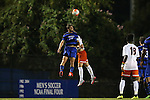 11 September 2015: Duke's Zach Mathers. The Duke University Blue Devils hosted the University of Virginia Cavaliers at Koskinen Stadium in Durham, NC in a 2015 NCAA Division I Men's Soccer match. The game ended in a 2-2 tie after overtime.