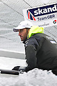 Ben Ainslie in action during The JP Morgan Asset Management Finn Gold Cup 2012. Falmouth.Credit: Lloyd Images