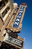 """Michael Moore hosts a press prior to the premier of his film """"Slacker Uprising,"""" at the Michigan Theater. 9/18/08"""