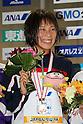 Yai Watanabe, .FEBRUARY 11, 2012 - Swimming : .The 53rd Japan Swimming Championships (25m) .Women's 200m Butterfly Victory Ceremony .at Tatsumi International Swimming Pool, Tokyo, Japan. .(Photo by YUTAKA/AFLO SPORT) [1040]