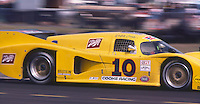 The #10 Cooke Racing Chevrolet Lola T-600 of Ralph Cooke, Jim Adams and Josele Garza races o an 11th place finish at the 12 Hours of Sebring endurance sports car race, March 19, 1983. (Photo by Brian Cleary/www.bcpix.com)