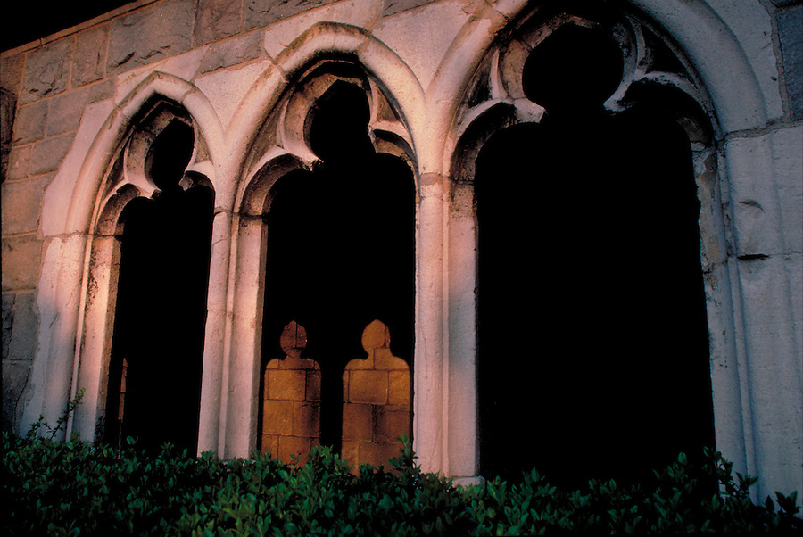 The Cloisters, New York City, New York, branch of the Metropolitan Museum of Art, Fort Tryon Park, Arch Windows