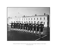 Passing Out Parade of Gardai - 12 New Ban Gardai.04/12/1959