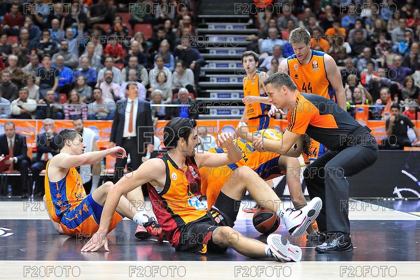 Valencia Basket 78-71 Galatasaray (28-11-2014)