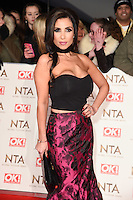 Francine Lewis at the National TV Awards 2017 held at the O2 Arena, Greenwich, London. <br /> 25th January  2017<br /> Picture: Steve Vas/Featureflash/SilverHub 0208 004 5359 sales@silverhubmedia.com