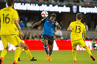 San Jose, California - May 16, 2015:  The San Jose Earthquakes defeated the Columbus Crew SC 2-0 at Avaya Stadium.