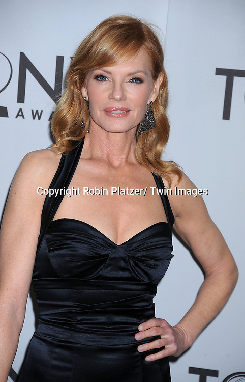 Marg Helgenberger attending the 65th Annual Tony Awards at The Beacon Theatre in New York City on June 12, 2011.