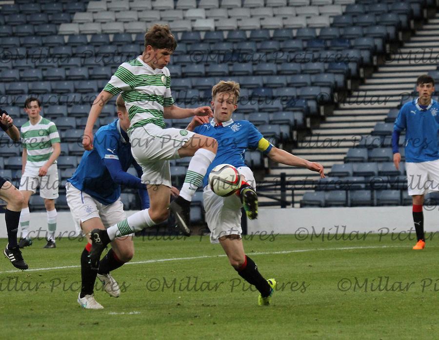 Celtic v Rangers Glasgow Cup Final 280415