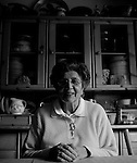 Anita Ferrante poses for a portrait at her Monterey,  CA home on Monday, January 29, 2007.
